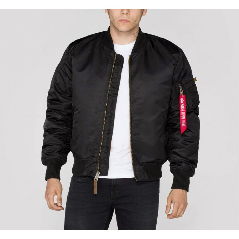 Jakna bombar ALPHA INDUSTRIES MA-1 VF 59 Črn