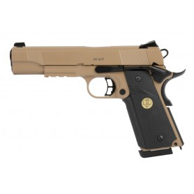 CO2 REPLIKA SPARTAN STS- 1911 TAN FULL METAL