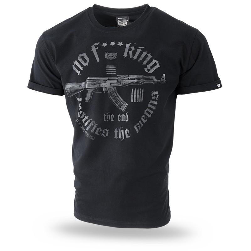 Kratka majica Doberman's Aggressive Doberman's Weapon Črna