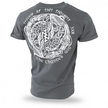 Kratka majica Doberman's Aggressive Mystical Circle Kovinsko siva