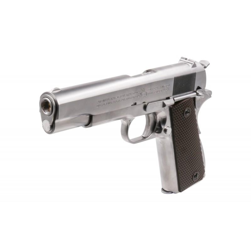 Colt 1911 GBB CO2 Full metal Silver - CO2 replika