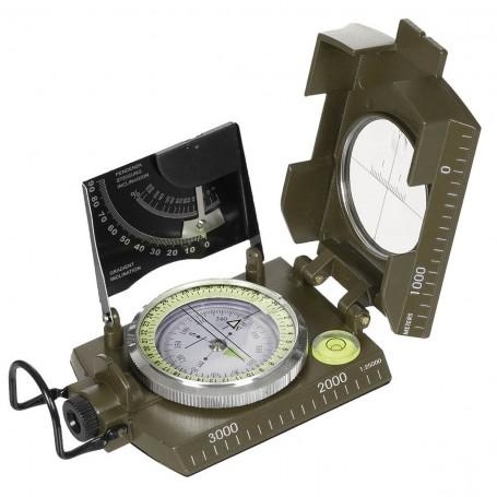 Kompas italijanski - rjave barve