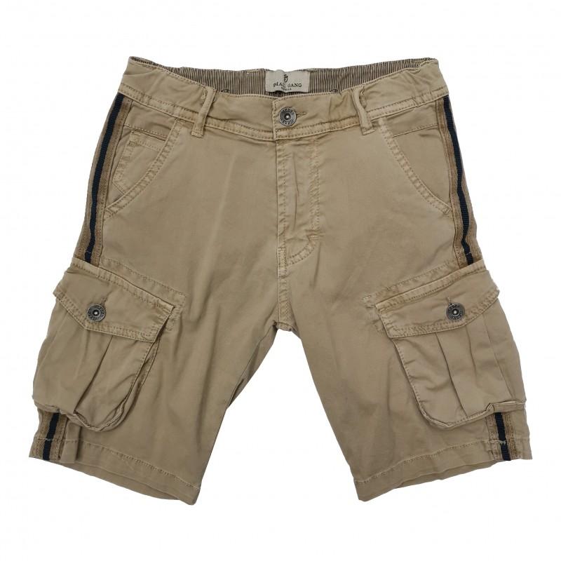 Otroške kratke hlače Small Gang rjave / 8-16