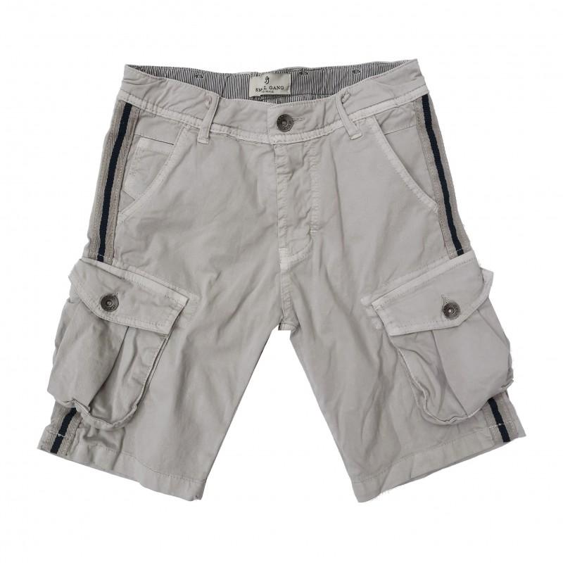 Otroške kratke hlače Small Gang sive / 8-16