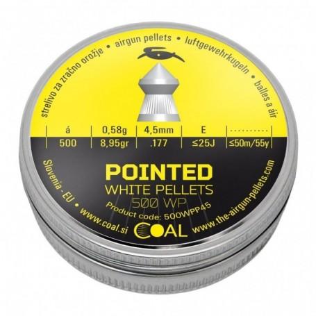 Metki COAL Pointed 500 WP 4,5  / .177  - koničasti