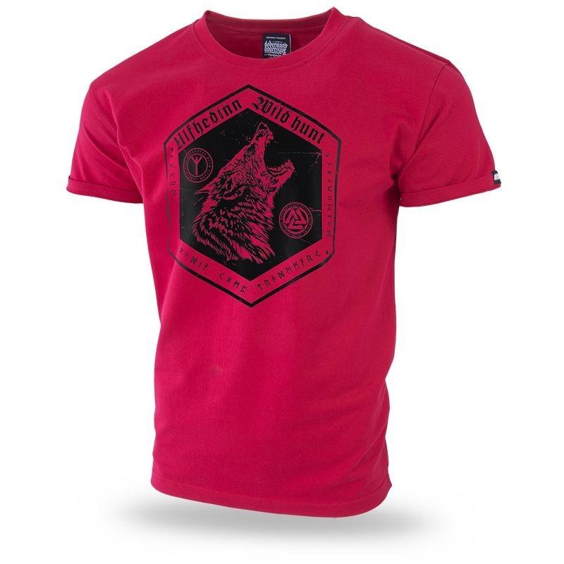 Majica kratek rokav Dobermans Aggressive Ulfhedin II Rdeča TS228