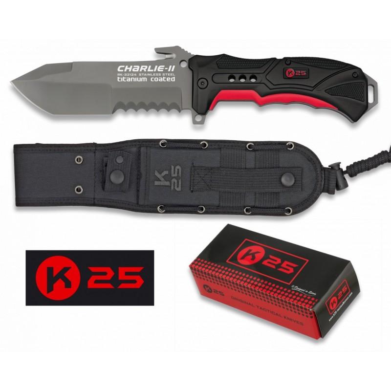 Nož K25 Charlie II 32124