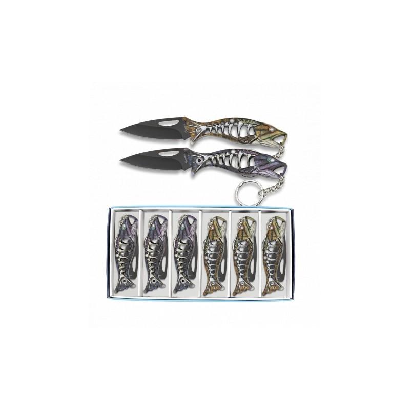 Nož obesek - riba 18504
