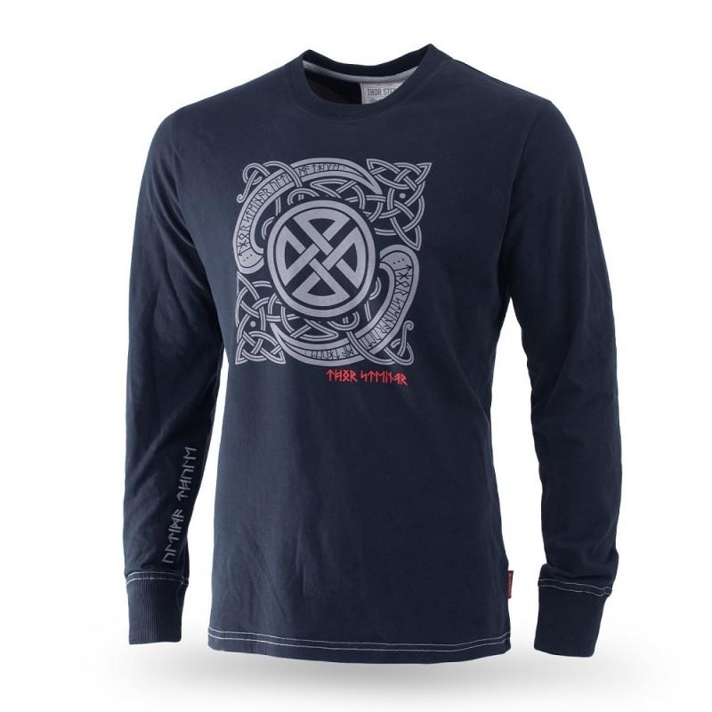 Dolga majica Thor Steinar Breeke črna