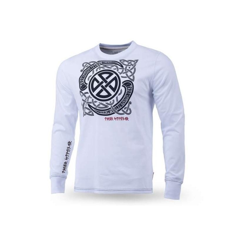 Dolga majica Thor Steinar Breeke bela