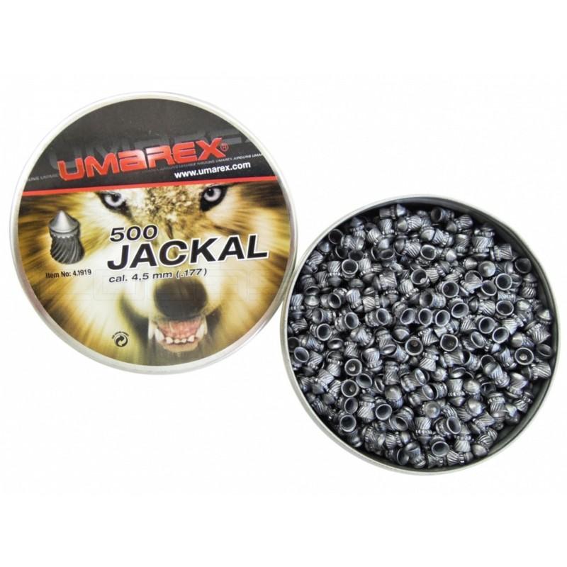 Metki UMAREX JACKAL 4,5 mm - koničasti