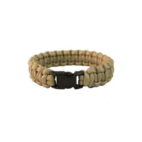Paracord zapestnica Coyote tan 1,9cm
