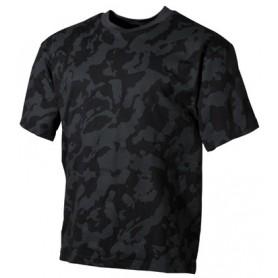 Majica s kratkimi rokavi Night camo