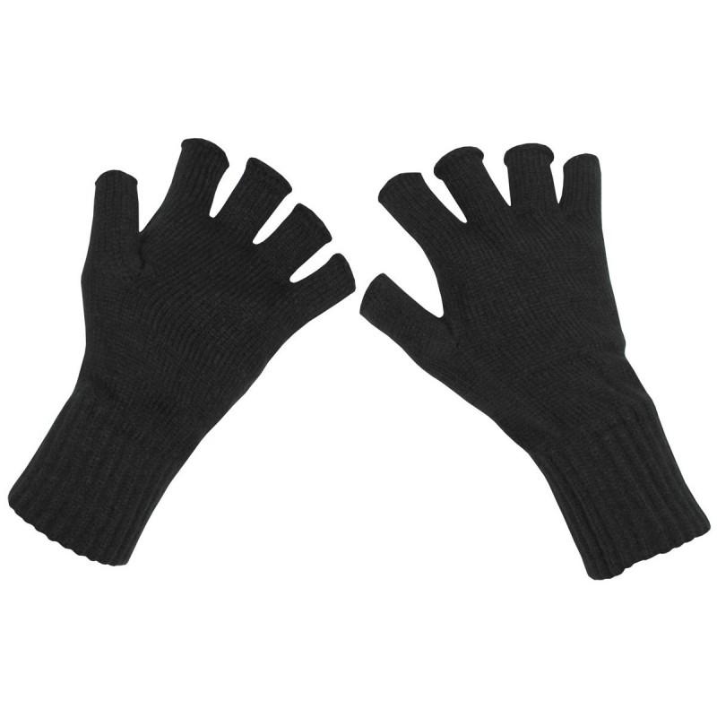 Rokavice brez prstov pletene