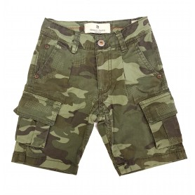 Otroške kratke hlače Small Gang Olivne 3-8 let