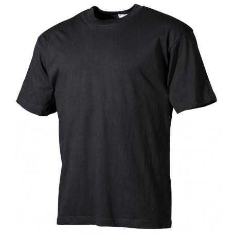 Majica s kratkimi rokavi Črna