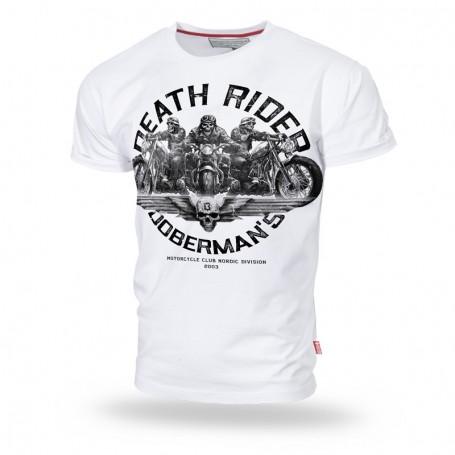 Majica kratek rokav Dobermans Aggressive Death Riders Bela TS160