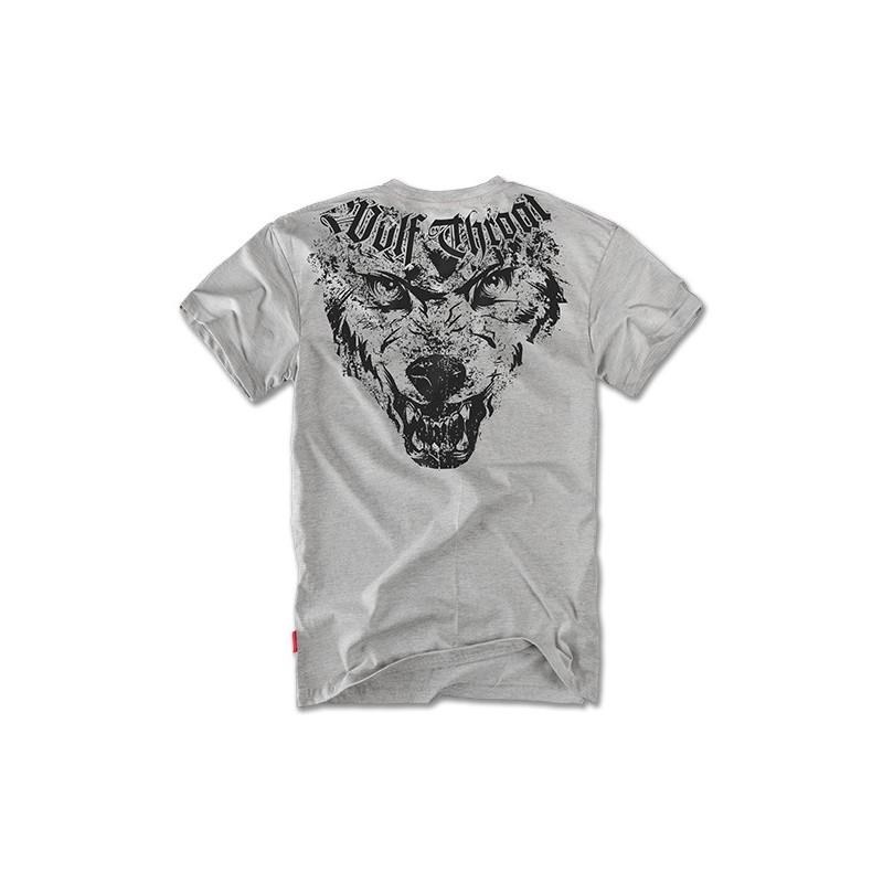 Majica kratek rokav Dobermans Aggressive Wolf Throat Kovinsko siva TS65G