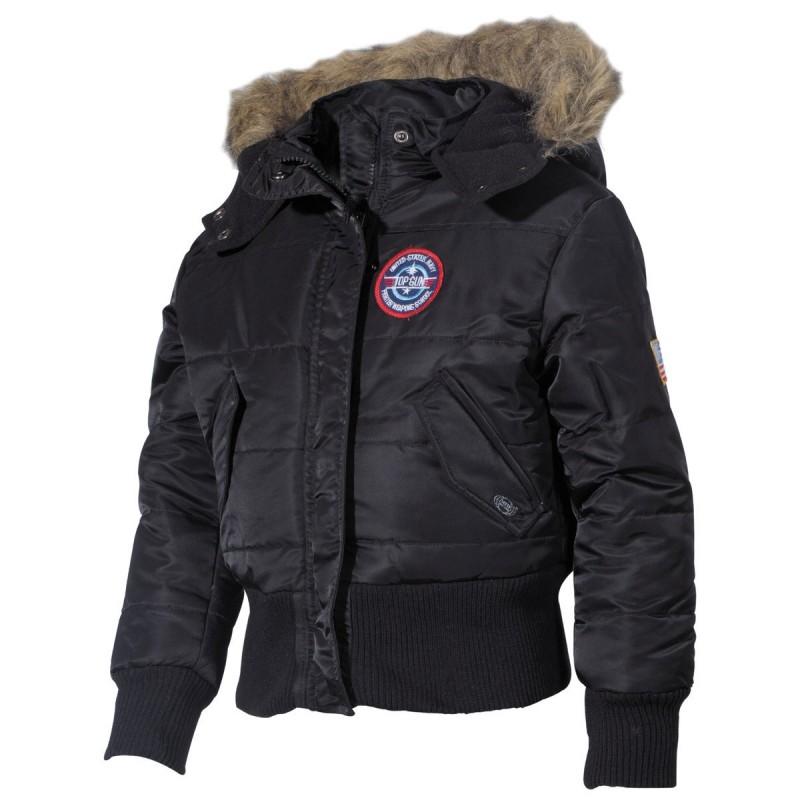Otroška jakna Polar črna N2B