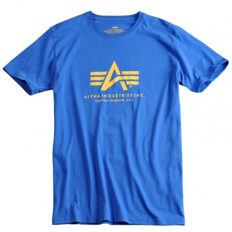 Kratka majica ALPHA INDUSTRIES BASIC Pacific Blue