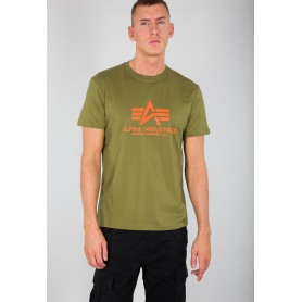 Kratka majica ALPHA INDUSTRIES BASIC Khaki Green