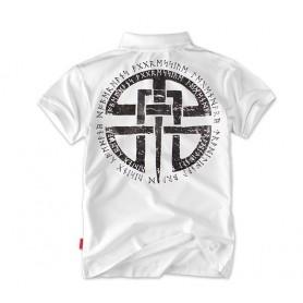 Polo majica kratek rokav Dobermans Aggressive Celtic Bela TSP81