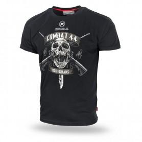 Majica kratek rokav Dobermans Aggressive Combat 44 Črna TS157