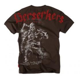 Majica kratek rokav Dobermans Aggressive Berserkers Rjava TS127