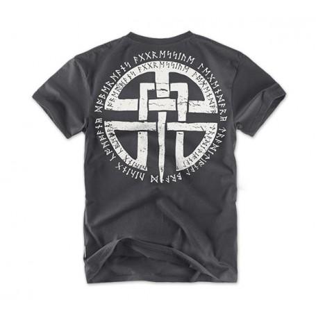 Majica kratek rokav Dobermans Aggressive Celtic Kovinsko siva TS81