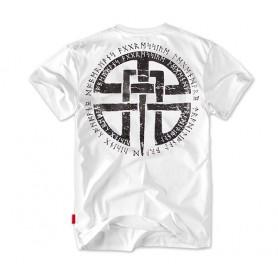 Majica kratek rokav Dobermans Aggressive Celtic Bela TS81