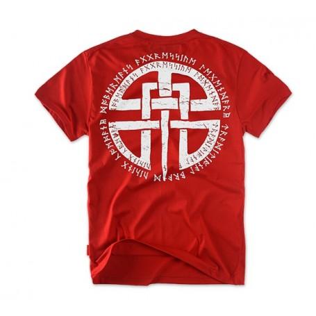 Majica kratek rokav Dobermans Aggressive Celtic Rdeča TS81