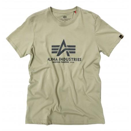Kratka majica ALPHA INDUSTRIES BASIC Light Olive