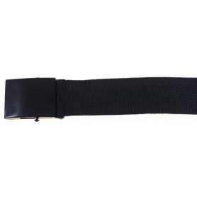 Pas 4,5 cm Črn