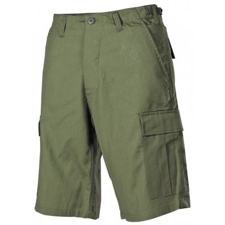 Kratke hlače BDU Rip stop Zelene