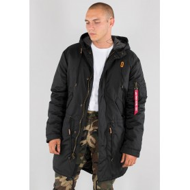 Zimska jakna ALPHA INDUSTRIES Hooded Fishtail CW TT