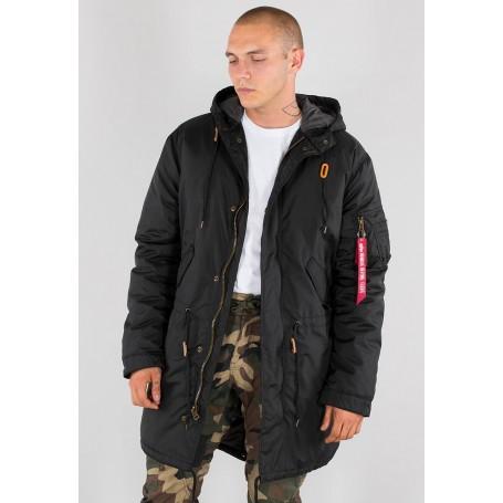 Zimska jakna ALPHA INDUSTRIES Hooded Fishtail CW TT