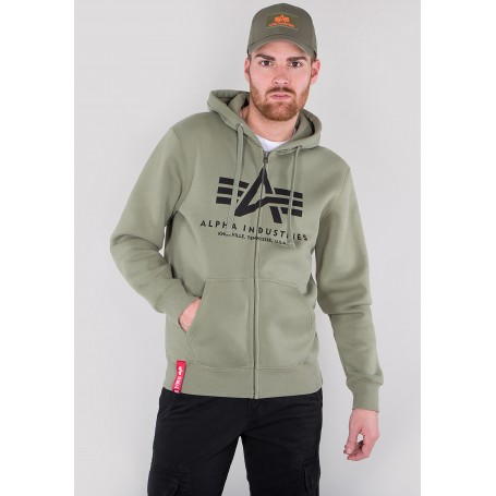 Jopa s kapuco ALPHA INDUSTRIES Basic Olive