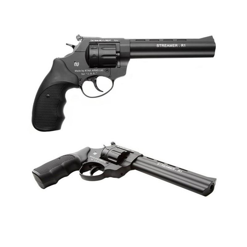 """Signalni revolver Zoraki - R1 6"""" 6mm Black"""