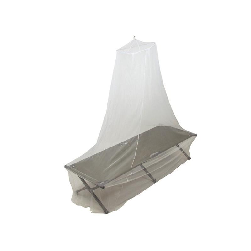 Mreža za komarje - enojna postelja - bela