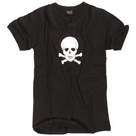 T-majica army Skull Črna