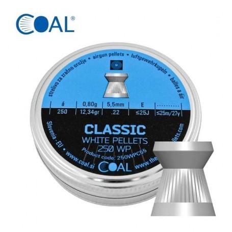 Metki COAL Classic 250 WP 5.5 / .22  - ploščati