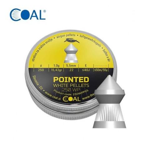 Metki COAL Pointed 250 WP 5.5 / .22  - koničasti