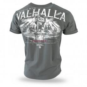 Majica kratek rokav Dobermans Aggressive Valhalla Khaki TS204