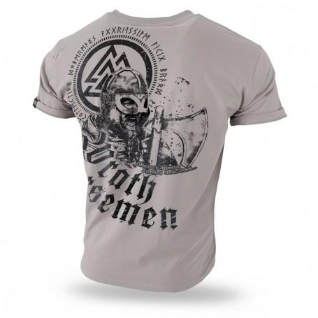 Majica kratek rokav Dobermans Aggressive Wrath Norsemen Beige TS208