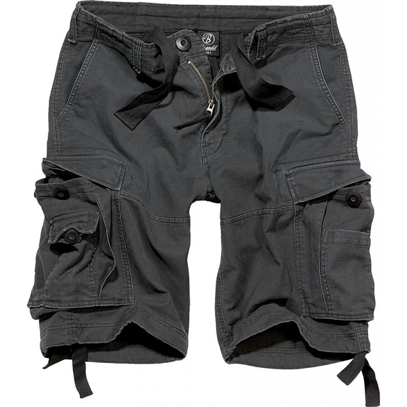 Kratke hlače Vintage Črne