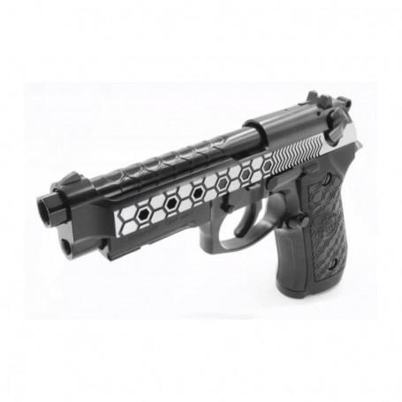 M92 Hex cut dual tone  HOPUP full metal - plinska replika