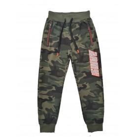 Otroške hlače - trenirka army helloday oranžna