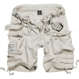 Kratke hlače Savage Umazano bele