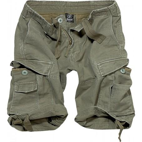 Kratke hlače Vintage Olivne