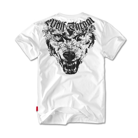 Kratka majica Doberman's Aggressive Wolf Throat Bela TS65